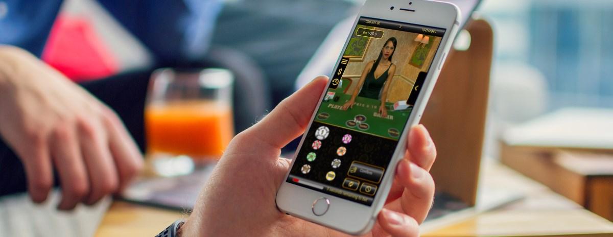 Spela livecasino på mobilen
