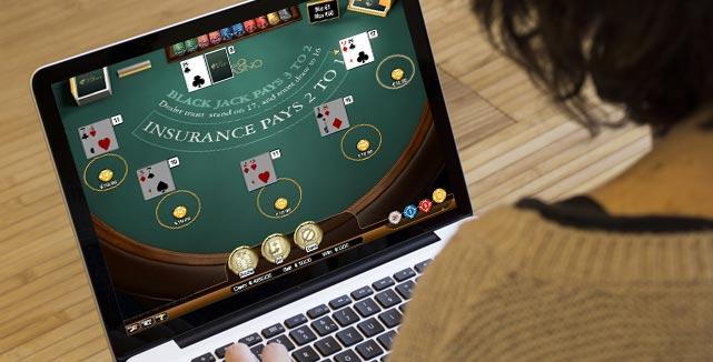 det är populärt att spela blackjack på nätet